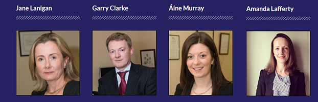 Team at Lanigan Clarke Solicitors